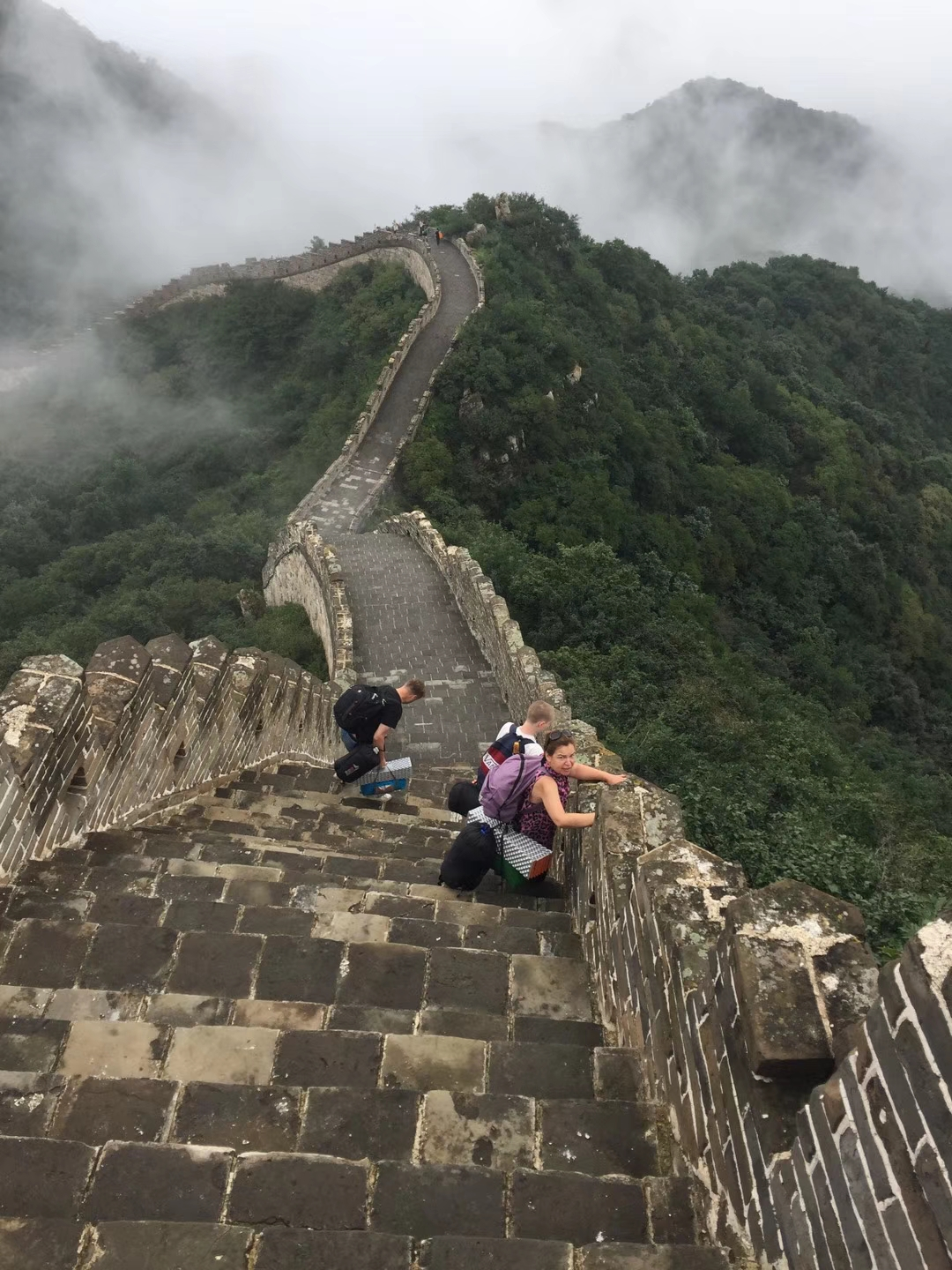 Camping on the Great Wall!