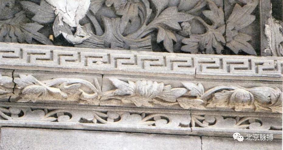 交道口北头条65号-门楣砖雕